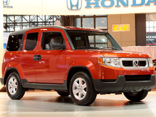 dog-friendly honda element concept transforms suv into pet-hauling champ