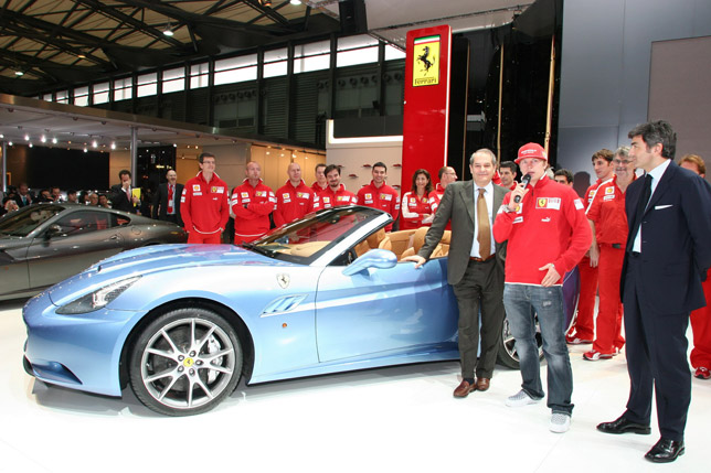 Ferrari California at Shanghai Motor Show