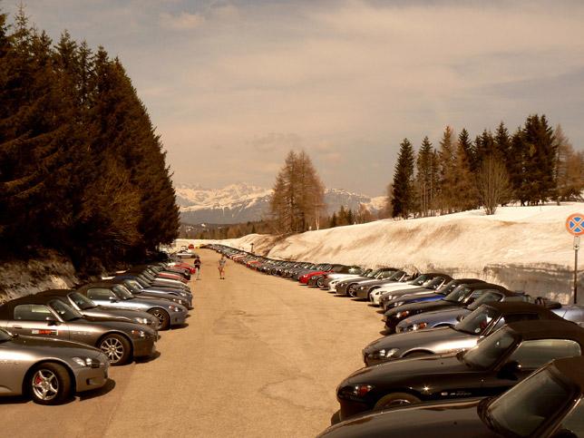Honda S2000 Euromeet Lineup