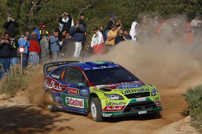 Jari-Matti Latvala (FIN) / Miikka Anttila - Ford Focus RS WRC