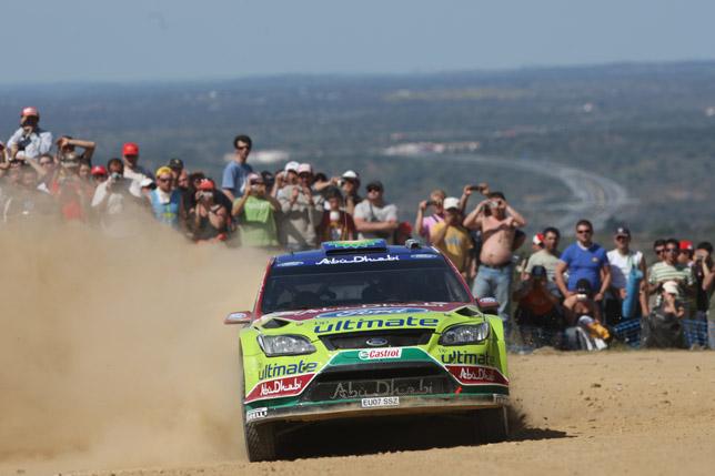 Khalid Al Qassimi (Abu Dhabi) / Michael Orr - Ford Focus RS WRC