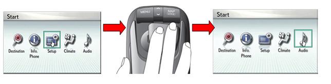 Lexus RX 450h Remote Touch