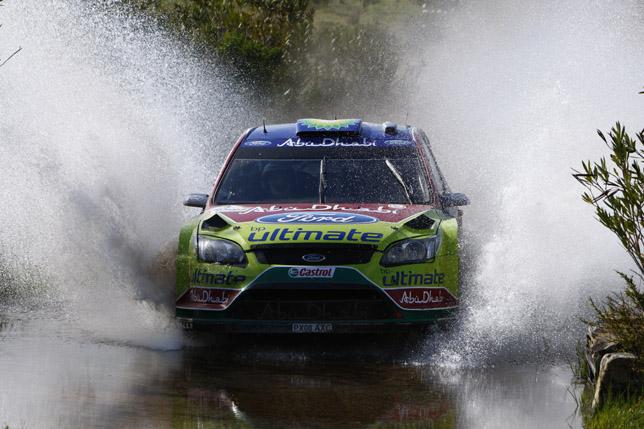 Mikko Hirvonen (FIN)  Jarmo Lehtinen - Ford Focus RS WRC
