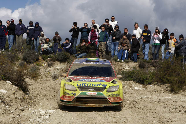 Mikko Hirvonen (FIN) / Jarmo Lehtinen - Ford Focus RS WRC