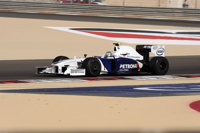 Bahrain Grand Prix Sakhir circuit. Nick Heidfeld (GER) in the BMW Sauber F1