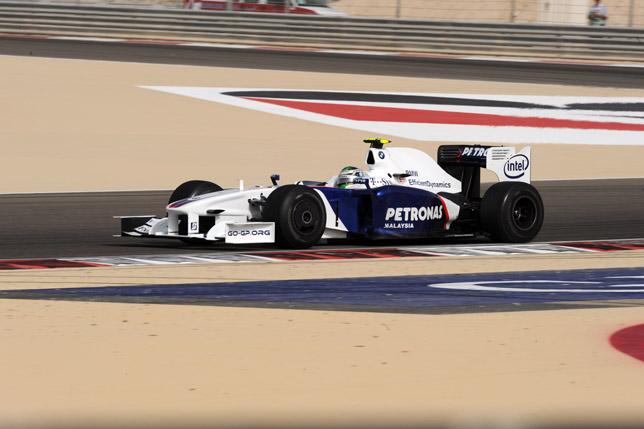 Bahrain Grand Prix Sakhir circuit. Nick Heidfeld (GER) in the BMW Sauber F1