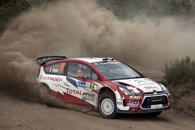 Ogier and Ingrassia - Citroën C4