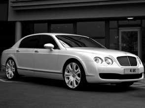 project kahn's pearl white bentley flying spur - the pearl in the crown