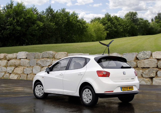 The SEAT Ibiza Ecomotive with optional Aero-Tonto