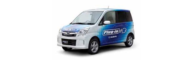 Subaru Plug-in STELLA electric vehicle