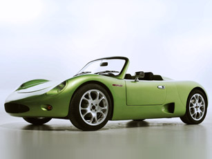 brusa all-electric spyder car