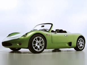 brusa all-electric spyder car