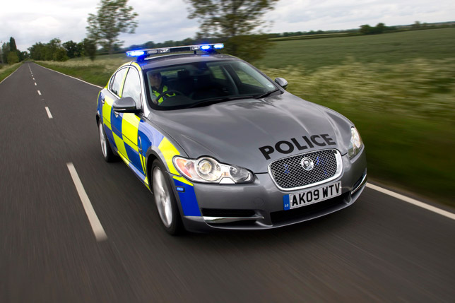 High Performance Police Jaguar XF Diesel S