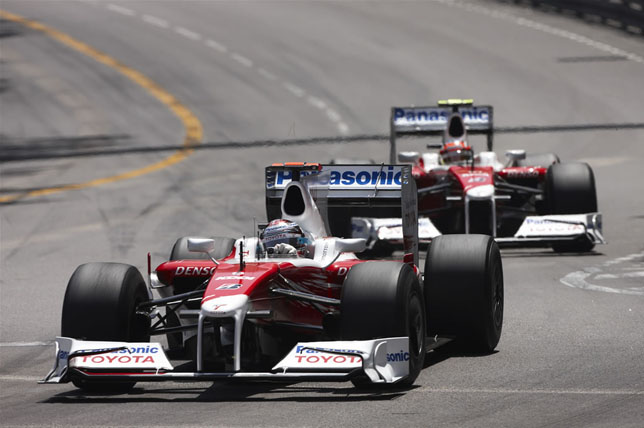 Monaco Grand Prix: Jarno Trulli and Timo Glock