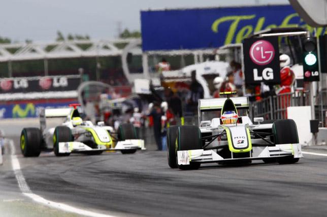 Jenson Button & Rubens Barrichello, Qualifying