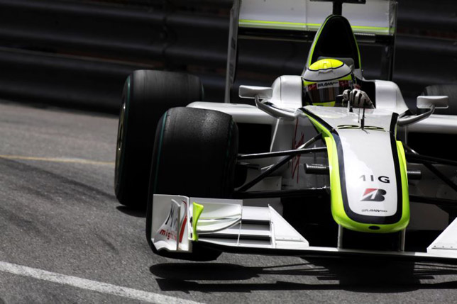 Monaco Grand Prix: Jenson Button