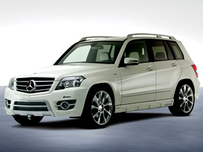 mercedes-benz glk in a sportservice lorinser outfit