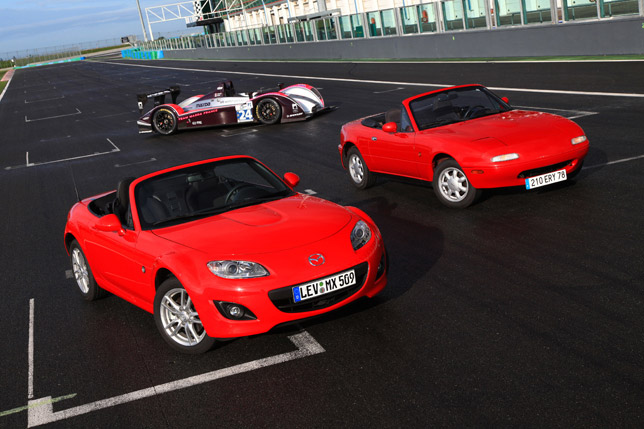 Roadster Enthusiasts to celebrate 20 Years of Mazda MX-5 at Le Mans