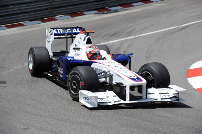 Robert Kubica (POL) in the BMW Sauber F1
