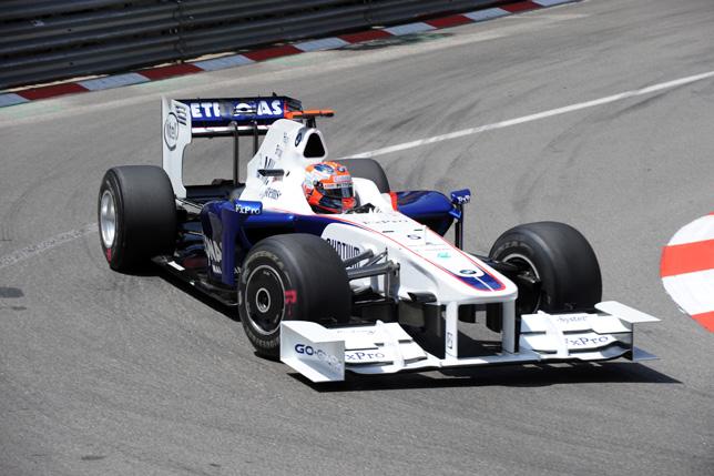 Robert Kubica (POL) in the BMW Sauber F1