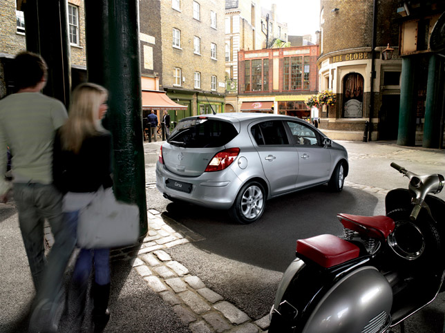 New Parking Sensors From Vauxhall