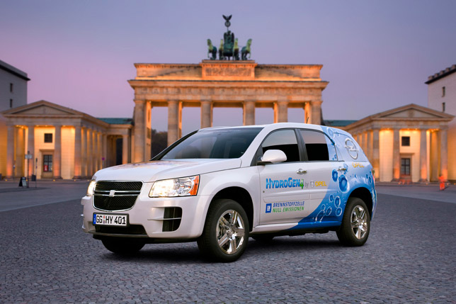 Opel HydroGen4 in Berlin
