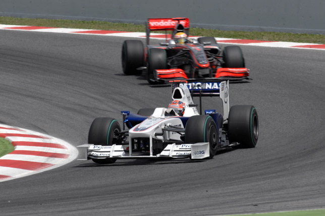 2009 Spanish Grand Prix Robert Kubica (POL) in the BMW Sauber F1