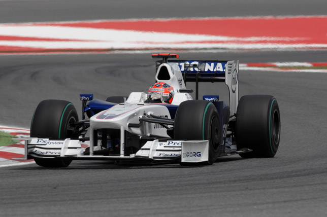 2009 Spanish Grand Prix Robert Kubica (POL) in the BMW Sauber F1