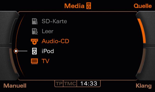 Audi navigation system plus