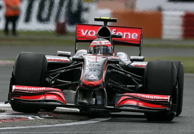 British GP - Heikki Kovalainen, Vodafone McLaren Mercedes, retired