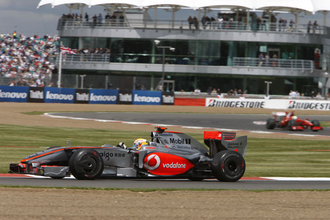 British GP - Lewis Hamilton, Vodafone McLaren Mercedes, 16th