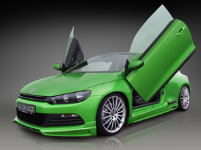 diesel powered vw scirocco by je design