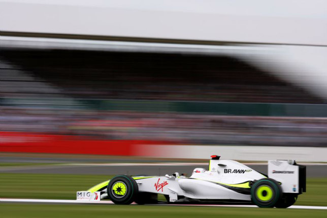 Jenson Button at the British GP
