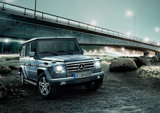 Mercedes-Benz G-Class - new additional features for more comfort