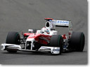 Panasonic Toyota Racing scored two points at the British GP