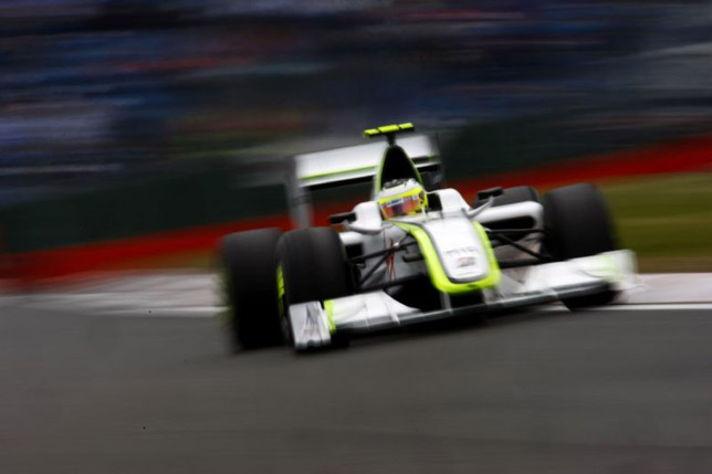 Rubens Barrichello at the British GP