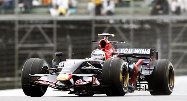 Sebastian Vettel at Silverstone