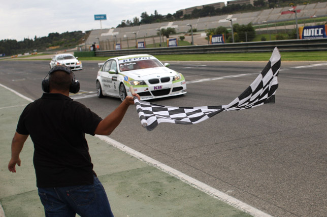 Valencia, Spain - BMW Team Germany