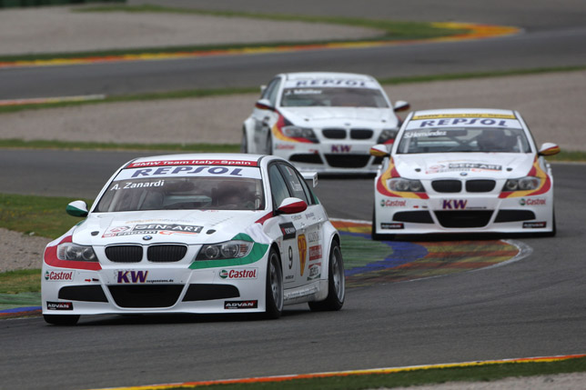 Valencia, Spain - BMW Team Italy-Spain