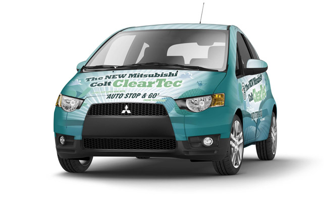 Mitsubishi Colt CZ2 ClearTec 3-door, extra-urban mode