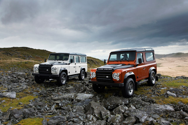 Land Rover Defender Fire and Defender Ice Limited Editions
