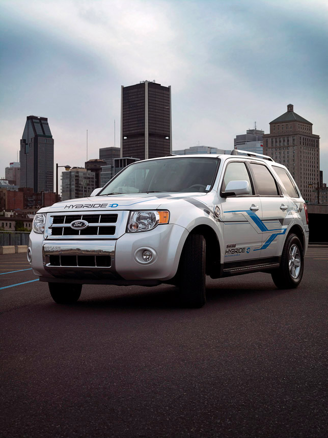 Hydro-Quebec Joins Research Program on Hybrid Electric Vehicles