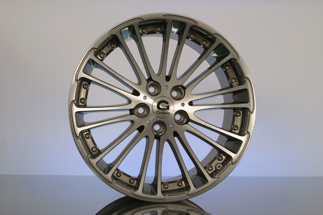 G-POWER SILVERSTONE DIAMOND alloy wheel