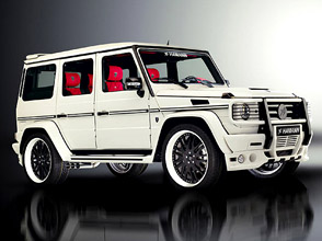 hamann mercedes-benz g55 amg typhoon