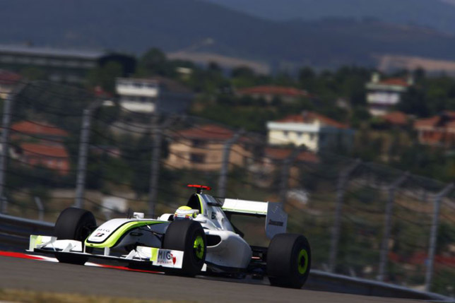 Jenson Button at GP of Turkey
