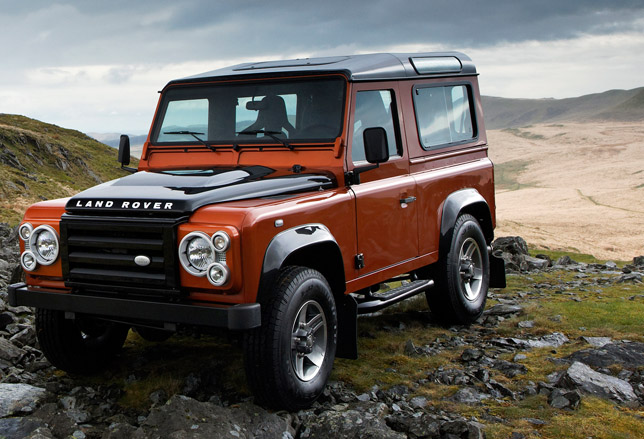 Land Rover Defender Fire Limited Edition