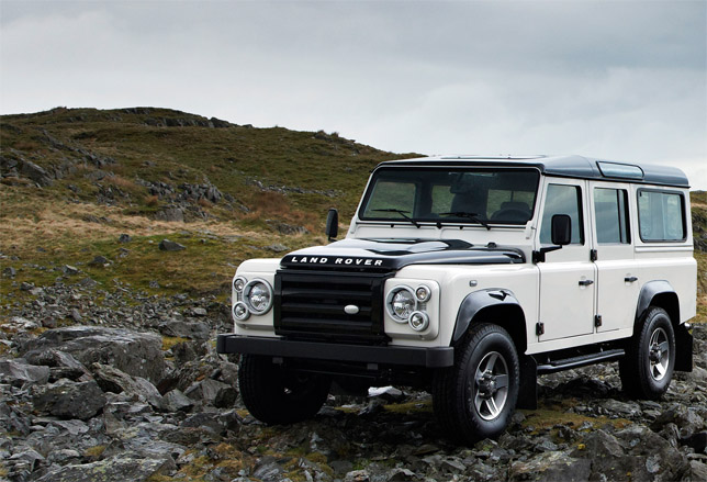 Land Rover Defender Ice Limited Edition