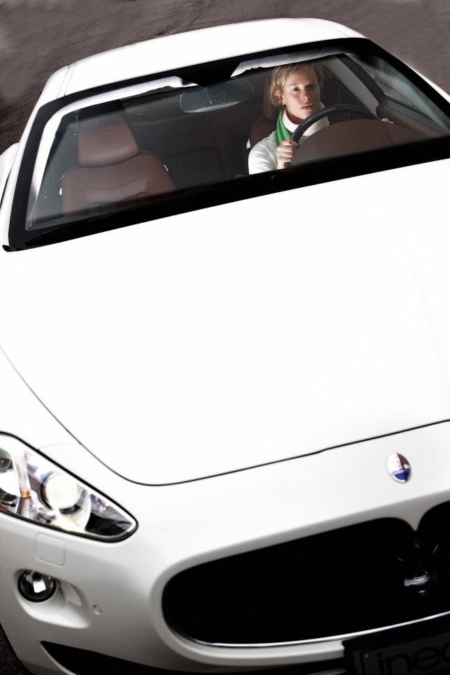 Maserati GranTurismo S Automatic and Federica Pellegrini