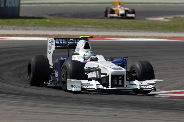 2009 Turkish Grand Prix - Nick Heidfeld (GER) in the BMW Sauber F1