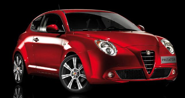 MOMO Predator on Alfa Romeo MiTo
